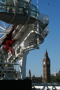 London Eye and Big Ben Copyright: C. Schrader